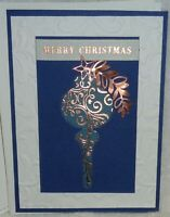 Stampin' Up! Card Kit BRIGHTLY GLEAMING Ornament Merry Christmas Copper