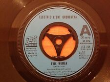 ELO - 1975 Vinyl 45rpm 7-Single - EVIL WOMAN