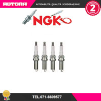 KIT 4 CANDELE NGK SPARK PLUG LFR5A-11 NISSAN X Trail T30 2.0 103 kW QR20DE 2001