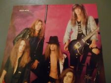 "8"" x 11"" Poster of Skid Row and Axl Rose Guns N Roses Gnr"