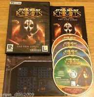 STAR WARS KNIGHTS OF THE OLD REPUBLIC II 2 for PC COMPLETE by Lucas Arts