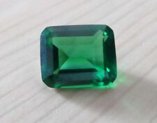10x12mm AAA Natural Mined Green Emerald Emerald Faceted Cut 8.02ct VVS Loose Gem