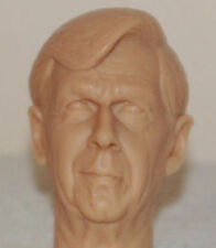 1/6 Scale Custom William B Davis X Files Cigarette Smoking Ma Action Figure Head