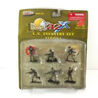 THE ULTIMATE SOLDIER 1/32 SCALE 32X WWII US ARMY INFANTRY SOLDIERS SET 1
