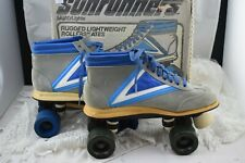 Vintage Sunrunners Mightylights Roller Skates By Mattel RARE! with original Box