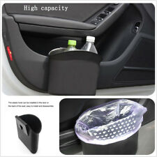 Garbage Can Trash Bin Waste Container for Vehicle Car SUV With Clips Universal