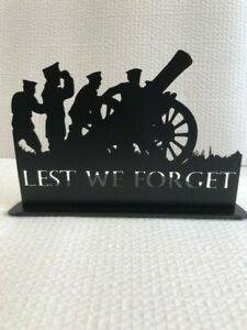 Lest We Forget Battlefield Cannon soldier tea light