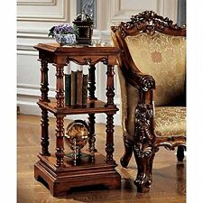 AF8081 - The Lord Pimlicoe Etagere - Handcarved Mahogany Antique Replica Table