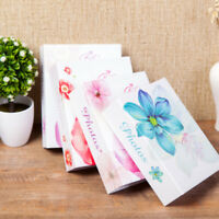 Flower Photo Album Travel Family Holiday Flowers Design Holds 6inch Photos