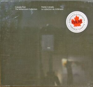 Limited Ed Hardcover Sealed 2000 Canada Post: The Ultimate Millennium Collection