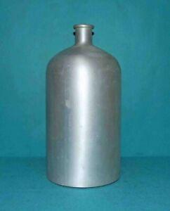 bouteille bombonne ancienne en metal alluminium 4 litres