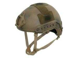 Emerson Airsoft Adjustable MH Helmet Subdued Earth 5658C Night Vision Mount