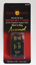 JOHNNY STEWART HURT'N HOG ARSENAL PreyMaster Memory Card PM-3 PM-4
