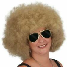 BLONDE Afro Wig Costume Halloween party dress up prop