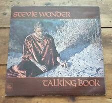 Stevie Wonder - Talking Book LP vinyl UK 1972 Tamla Motown