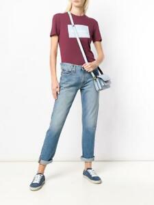 CALVIN KLEIN Women`s Jeans Size 31 Mid Rise Boy American Classics L32 CKJ 061