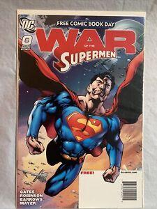 Superman: War of the Supermen 0 1 2 3 4 DC Comics Set Lot Run 2010