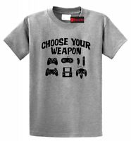 Choose Your Weapon Funny T Shirt Gamer Gift Gamer Humor Tee