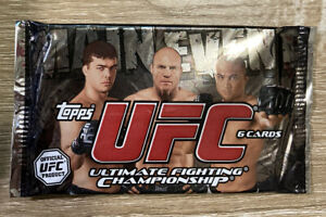 2010 Topps UFC Main Event Sealed Pack