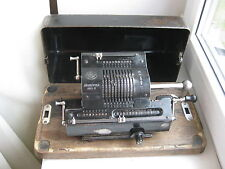vintage 1930s calculator brunsviga 13 arithmometer adding machine