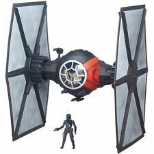 """TIE Fighter HUGE! Star Wars Force Awakens + action figure 6"""" scale Hasbro"""