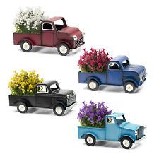 Fahrzeug Design Metall Truck Pflanzgefäß Blumentopf Blumenkasten Garten Pflanze