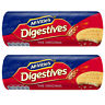 McVitie's Digestives Original Biscuits 400g 70% Wheat & Wholemeal 2x Packs