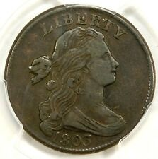 PCGS VF35 1803  Small Date Lg Frac  Draped Bust Cent