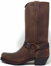 Frye Women's Engineer 12R Harness Riding Boots Gaucho Brown Tan Size 11 M US