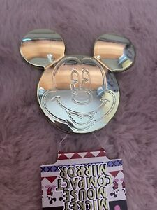 PRIMARK Disney Mickey Mouse Gold Foldable Compact Mirror