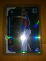 2015 BOWMAN CHROME NOAH SYNDERGAARD RC REFRACTOR #/499 #192 NEW YORK METS ROOKIE
