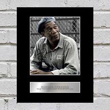 Morgan Freeman Signed Mounted Photo Display The Shawshank Redemption