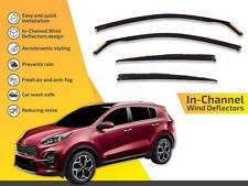 Wind deflectors for Opel Astra H 2006-2010 Sedan Saloon 4doors front/&rear