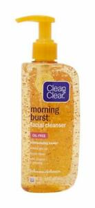 Clean & Clear Morning Burst Facial Cleanser with Bursting Beads, 8 oz (240 mL)