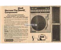1976 Pickering XV-15 Phono Cartridge Stereo Hi-Fi Vtg Print Ad
