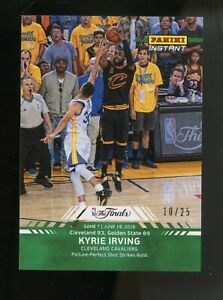 2016 Panini Instant NBA Finals Kyrie Irving Cleveland Cavaliers 10/25
