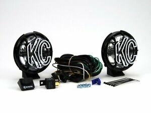 KC HiLiTES Apollo Pro 5in. Halogen Light 55w Spread Beam (Pair Pack System) - B