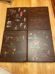 RARE! Atari Game Binders with Games! Donkey Kong Star Wars and More! Vintage