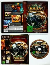PC/Mac DVD-Rom WORLD OF WARCRAFT ERWEITERUNG Cataclysm/Mists of Pandaria dt. OVP