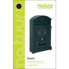 BUZON EXTERIOR NATUUR IMPERIO NT97366 NEGRO