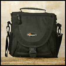Black Lowepro Nova 2AW All Weather camera Bag suit Canon Nikon Sony DSLR Lenses