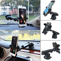 Universal Car Mobile Phone Holder 360 Windscreen Suction Mount GPS Stand Hot UK