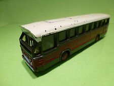 LION CAR 38 DAF SB 200 DO CITY BUS - MAROON + GREY 1:50 - NICE CONDITION