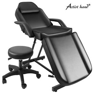 Multifunction Massage Bed Barber Chair HydraulicStool Tattoo Facial Beauty Salon