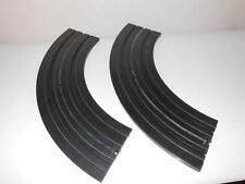 "Aurora Model Motoring- Two Sections Of 1519 - 9"" Radius Curve Track- H41"