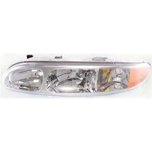 New GM2502203 Left Headlight for Oldsmobile Alero 1999-2004