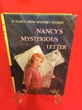 VINTAGE NANCY DREW MYSTERY STORY CHILDRENS BOOK #8 NANCY MYSTERIOUS LETTER 1968