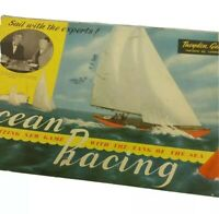Theydon Games Ocean Racing Board Game 1930/40's Not complete. Vintage board game