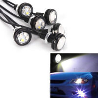 White 12V 10W Eagle Eye Led Daytime Running Drl Backup Light Car Auto Lamp Iu IY
