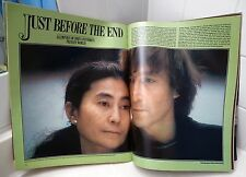 RARE LIFE MAGAZINE - FEBRUARY 1981 - JOHN LENNON AT HOME SEE PHOTOS FOR CONTENTS